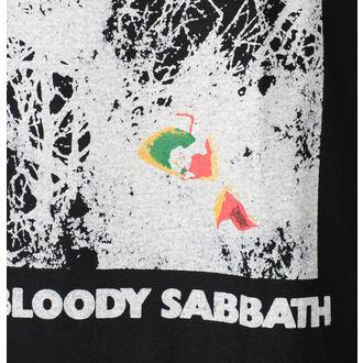 Herren T-Shirt Metal Black Sabbat - Black - ROCK OFF, ROCK OFF, Black Sabbath