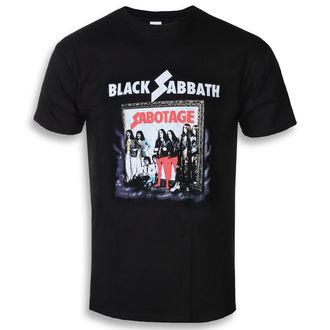 Herren T-Shirt Metal Black Sabbath - Sabotage - ROCK OFF, ROCK OFF, Black Sabbath