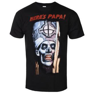 Herren T-Shirt Ghost - Here's Papa - ROCK OFF, ROCK OFF, Ghost