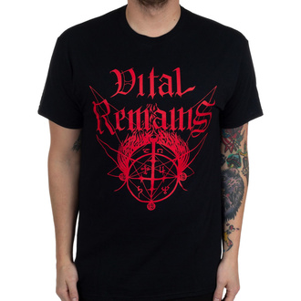 Herren T-Shirt Vital Remains - Where Is Your God Now - Schwarz - INDIEMERCH, INDIEMERCH, Vital Remains