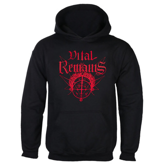 Herren Hoodie Vital Remains - Where Is Your God Now - Schwarz - INDIEMERCH, INDIEMERCH, Vital Remains