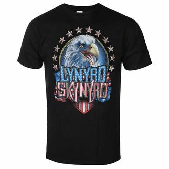 Herren T-Shirt Lynyrd Skynyrd - Eagle - Schwarz - ROCK OFF, ROCK OFF, Lynyrd Skynyrd
