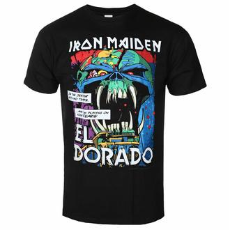 Herren-T-Shirt Iron Maiden - El Dorado BL - ROCK OFF, ROCK OFF, Iron Maiden