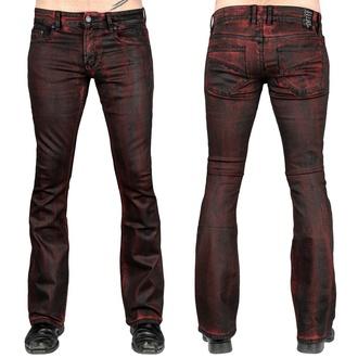 Herren Hose Jeans WORNSTAR - Hellraiser Crimson Coated, WORNSTAR
