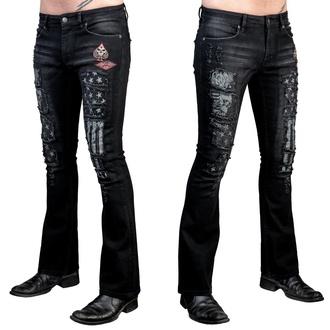 Herren Hose Jeans WORNSTAR - Riven - Schwarz, WORNSTAR