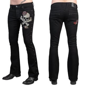 Herren Hose Jeans WORNSTAR - Vanguard - Schwarz, WORNSTAR