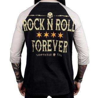 Herren 3/4 Arm Shirt WORNSTAR - Rock N Roll Forever, WORNSTAR