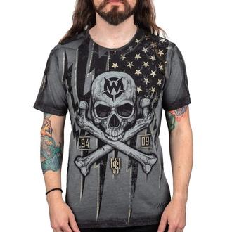 Herren T-Shirt WORNSTAR - Black Flag, WORNSTAR