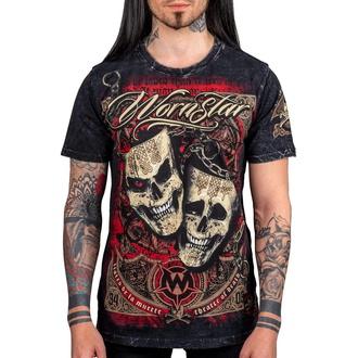 Herren T-Shirt WORNSTAR - Muerte - Black - WSUS-MUE