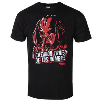 Herren T-Shirt Predator - De Los Hombres - Schwarz - HYBRIS, HYBRIS, Predator