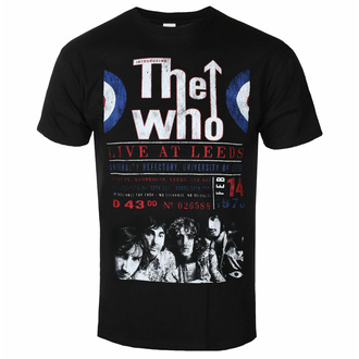 Herren T-Shirt The Who - Live At Leeds '70 - ROCK OFF