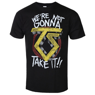 Herren T-Shirt Twisted Sister - We´re Not Gonna Take It - Schwarz - HYBRIS, HYBRIS, Twisted Sister