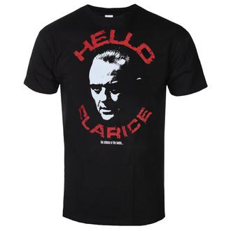 Herren T-Shirt The Silence Of The Lambs - Hello Clarice - Schwarz - HYBRIS, HYBRIS, Das Schweigen der Lämmer