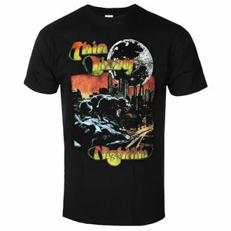 Herren T-Shirt Thin Lizzy - Nightlife Colour - ROCK OFF, ROCK OFF, Thin Lizzy