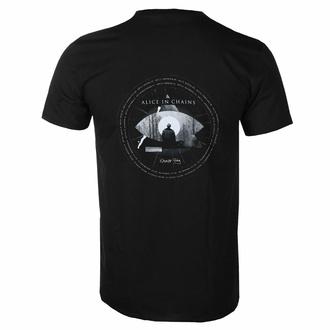 Herren T-Shirt Alice In Chains - Fog Mountain - SCHWARZ - ROCK OFF, ROCK OFF, Alice In Chains