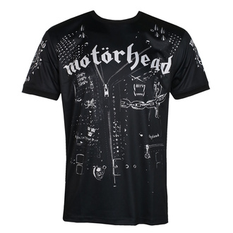 Herren T-Shirt (technisch) Motörhead - LEATHER VEST - SCHWARZ - AMPLIFIED, AMPLIFIED, Motörhead