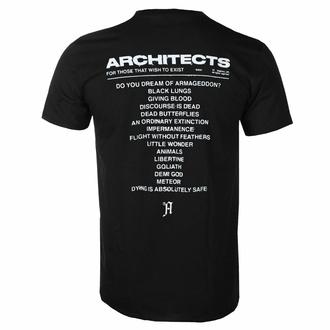 Herren T-Shirt Architects - FTTWTE Cover - Schwarz - KINGS ROAD, KINGS ROAD, Architects