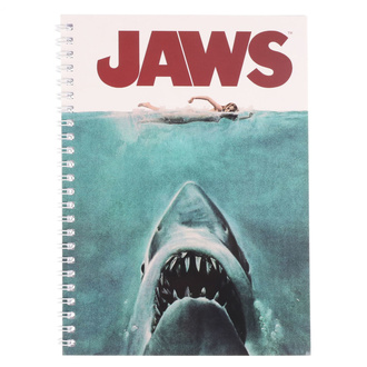 Notizblock Jaws - Movie Poster, NNM, Der weiße Hai