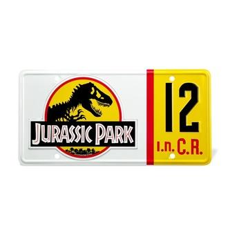 Nummernschild Jurassic Park - Replik 1/1 Dennis Nedry Lizenz Teller, NNM, Jurassic Park