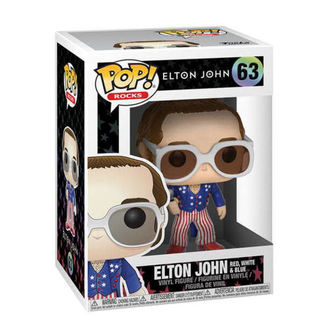 Figur Elton John - POP !- White & Blue, Elton John