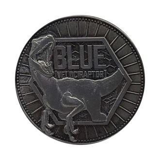 Münze Jurassic World - Sammlerstück Münze Blau Limitierte Edition, NNM, Jurassic Park