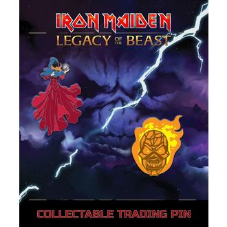 Pinnwandnägel Iron Maiden - Legacy of the Beast - Clairvoyant & Wicker Man, NNM, Iron Maiden