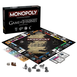 Brettspiel Game of Thrones - Monopoly Collectors Edition - English Version, NNM, Game of Thrones: Das Lied von Eis und Feuer