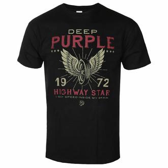 Herren T-Shirt Deep Purple - Highway Star - ROCK OFF, ROCK OFF, Deep Purple