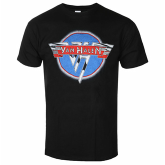 Herren T-Shirt Van Halen - Chroe Logo - ROCK OFF, ROCK OFF, Van Halen