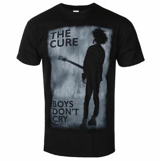 Herren T-Shirt Cure - Boys Do not Cry - SCHWARZ - ROCK OFF, ROCK OFF, Cure