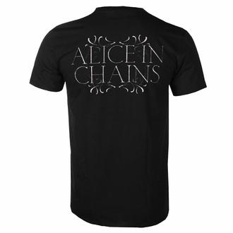 Herren T-Shirt Alice In Chains - Moon Tree - Schwarz - ROCK OFF, ROCK OFF, Alice In Chains