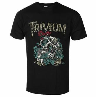 Herren T-Shirt Trivium - Skelly Flower - ROCK OFF, ROCK OFF, Trivium