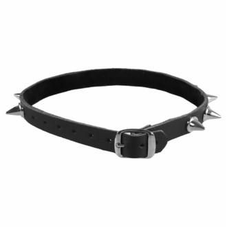 Halskette mit Nieten, BLACK & METAL