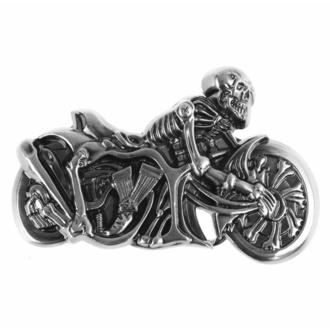 Schnalle Hell Rider, BLACK & METAL