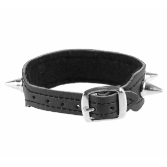 Armband mit Nieten, BLACK & METAL