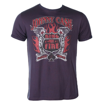 Herren T-Shirt Johnny Cash - Ring Of Fire BO - ROCK OFF, ROCK OFF, Johnny Cash