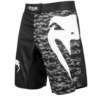 Herren Shorts VENUM - Light 3.0 Fightshorts - Schwarz / Urban Camo, VENUM