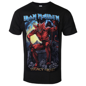 Herren T-Shirt Metal Iron Maiden - Legacy of the Beast 2 Devil - ROCK OFF, ROCK OFF, Iron Maiden