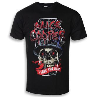 Herren T-Shirt Metal Alice Cooper - Liebe Das Tot (Dez) - ROCK OFF, ROCK OFF, Alice Cooper