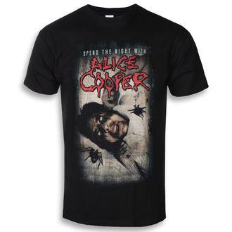 Herren T-Shirt Metal Alice Cooper - Spend The Night With Spiders - ROCK OFF, ROCK OFF, Alice Cooper