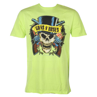 Herren T-Shirt Guns N' Roses - DEATH SKULL - OCEAN COLOR GRÜN - AMPLIFIED, AMPLIFIED, Guns N' Roses