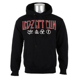 Herren Hoodie Led Zeppelin - LOGO & SYMBOLS - PLASTIC HEAD, PLASTIC HEAD, Led Zeppelin