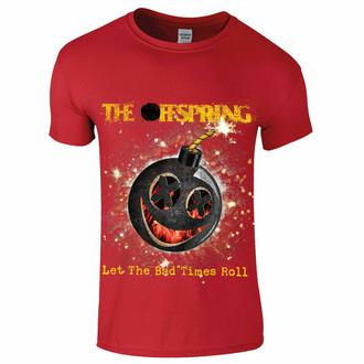 Herren-T-Shirt Offspring - Hot Sauce - Bad Times - Rot, NNM, Offspring