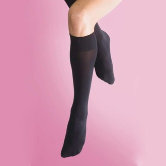 Hohe Kniesocken LEGWEAR - 70 denier opaque knee high 1pp - schwarz, LEGWEAR