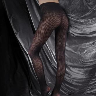 Strumpfhose LEGWEAR - couture ultimates - the catherine - schwarz, LEGWEAR