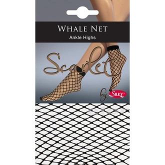 Strumpfsocken LEGWEAR - whale net ankle highs - schwarz, LEGWEAR