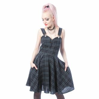 Damen Kleid HEARTLESS - ZOSIA - GREY CHECK, HEARTLESS