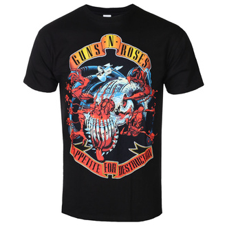 Herren T-Shirt Metal Guns N' Roses - Appetite for destruction - BRAVADO, BRAVADO, Guns N' Roses